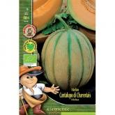 Sementes orgânicas de Melon Cantalupo Di Charentais  Conteúdo: 3 g / 45 sementes aprox.  Certificação ecológica ENEEK  Características da Variedade: