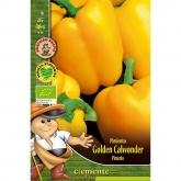 Sementes biológicas de Pimento Golden Italian (Amarelo)