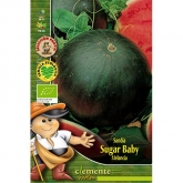 Sementes biológicas de Melancia Sugar Baby