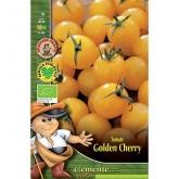 Sementes biológicas de Tomate de Cereja Dourada