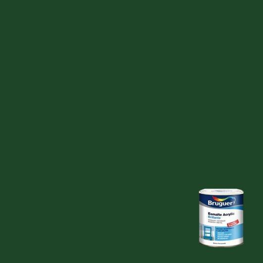 Esmalte acrílico brillante Acrylic VERDE MAYO