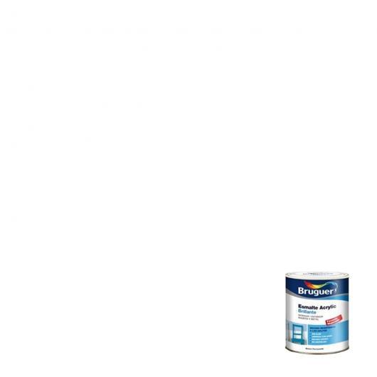 Esmalte acrílico brillante BLANCO PERMANENTE 750 ml