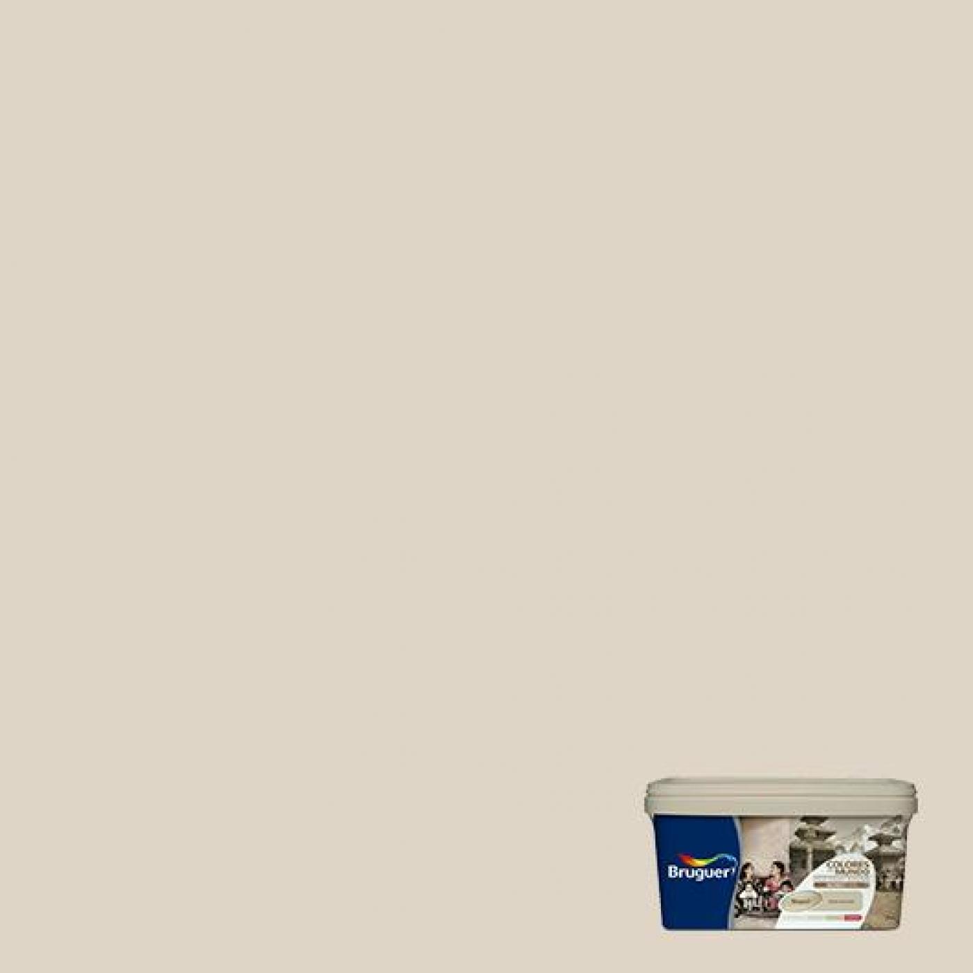 Colores del mundo nepal beige intermedio 4 l por 22 58 - Pintura monocapa bruguer ...