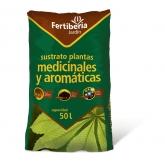 Substrato Plantas Medicinais, 50 L, Fertiberia