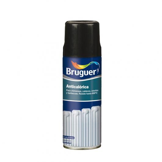 Pittura anticalorica in spray Bruger colore NERO 400 ml