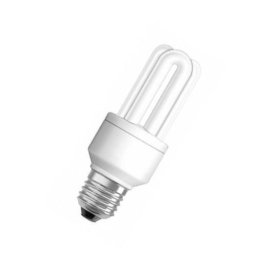 Bombilla Bajo consumo 11W rosca E27 luz cálida