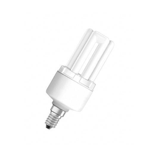 Lampadina basso consumo 8W attacco E14 luce neutra