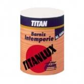 Vernice ad acqua INCOLORE SATINATA resistente alle intemperie Titanlux