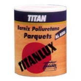 Vernice ad acqua INCOLORE BRILLANTE speciale per parquet Titanlux