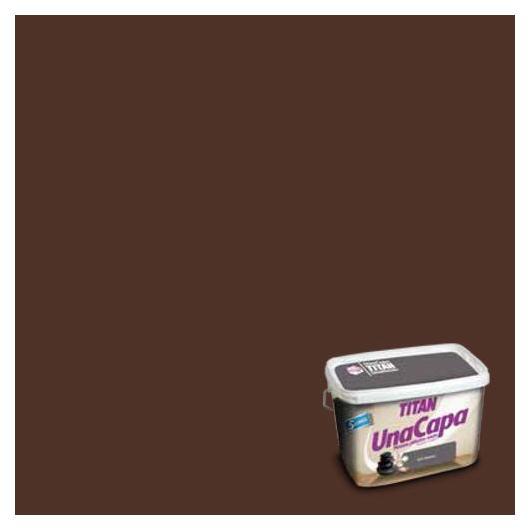 Peinture plastique mate CHOCOLAT Titan UNE COUCHE
