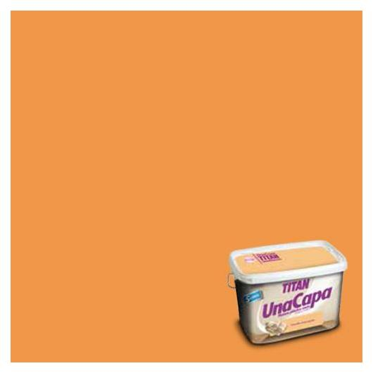 Pittura plastica mat OCRE INTENSO Titan UNA CAPA