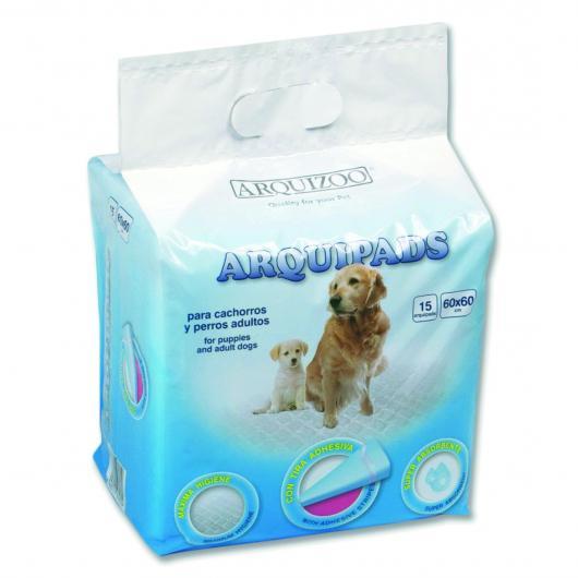 Toallas Higiénicas para perro Arquipads 30x45cm. 15unid.