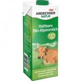 Latte di mucca intero UHT Andechser, 1L