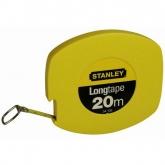 Cinta larga cerrada de acero Stanley 20 m 9.5 mm