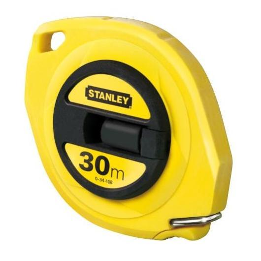 Rotella metrica nastro acciaio Stanley 30 m 9.5 mm