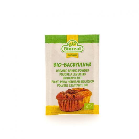 Levure pâtissière Bioreal, 3 x 10 g