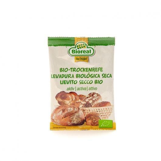 Levadura Pan y Bollería Bioreal, 9gr
