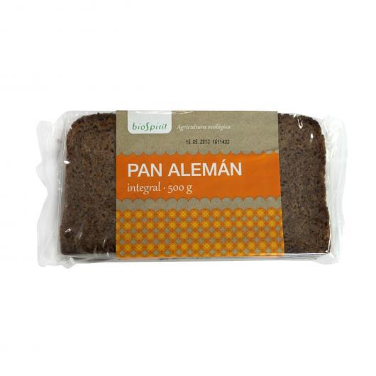 Pan Alemán Integral de BioSpirit, 500gr