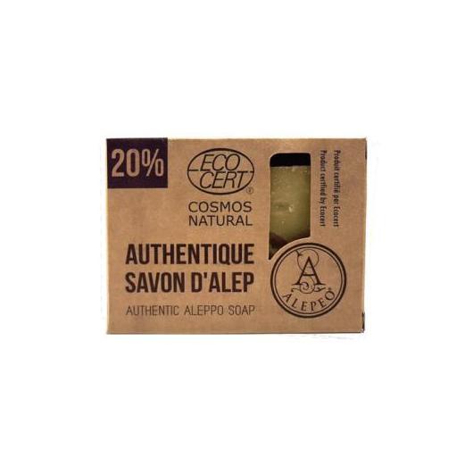 Jabón Alepo Natural 20% 200 gr