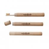 Caixa de bambu para escova de dentes, Naturbrush
