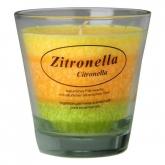 Vela vegetal perfumada óleo essencial de Citronela, La Rueda Natural