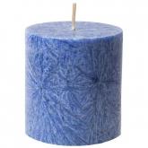 Vela pilar pequena azul, La Rueda Natural