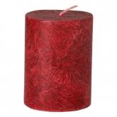 Vela pilar pequena vermelha, La Rueda Natural