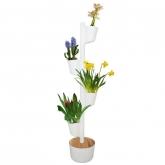 Jardim vertical Flores Perfumadas, Citysens, branco