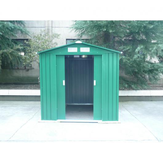 Caseta met lica mediana con doble puerta 181x201x190 cm por 259 95 en planeta huerto for Casetas de huerto