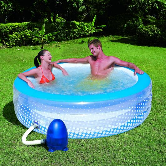 Piscina de burbujas por 99 95 en planeta huerto - Burbujas para piscinas ...