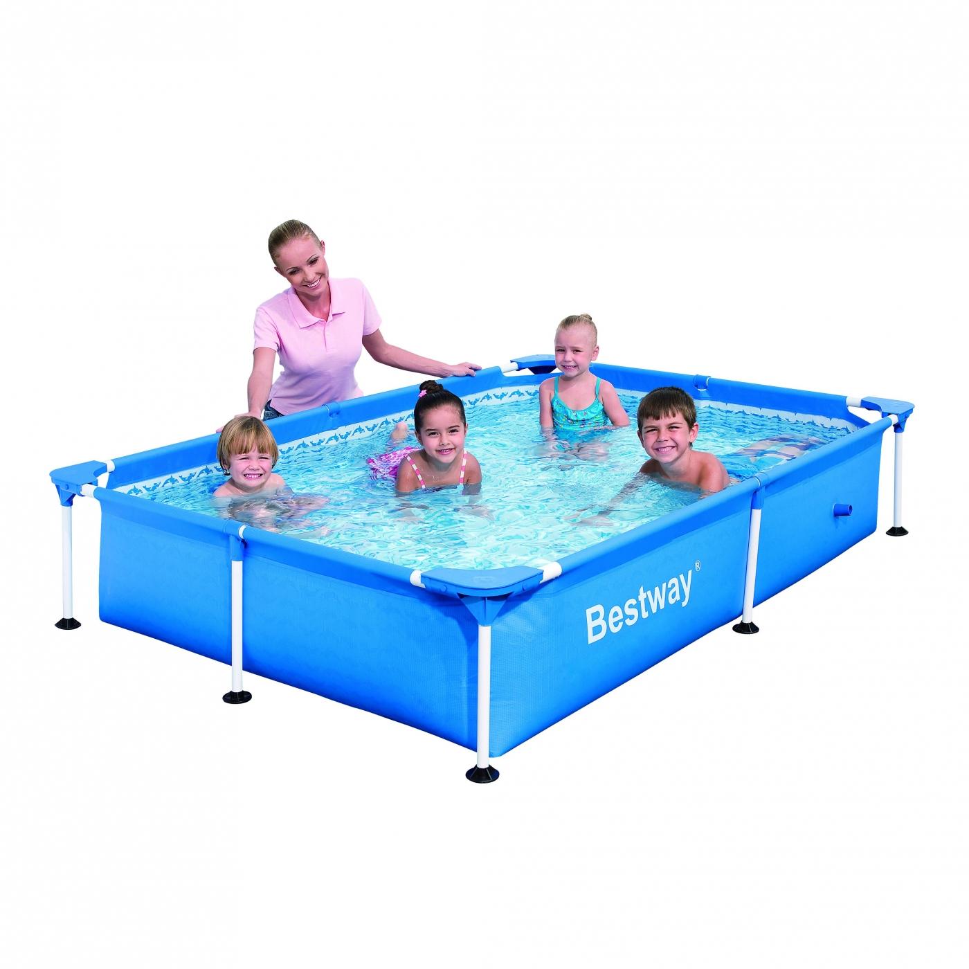 Piscina splash sin depuradora 229 x 160 x 43 cm por 75 00 for Piscinas bestway opiniones