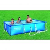 Piscina Splash con depuratore 300 x 201 x 66 cm