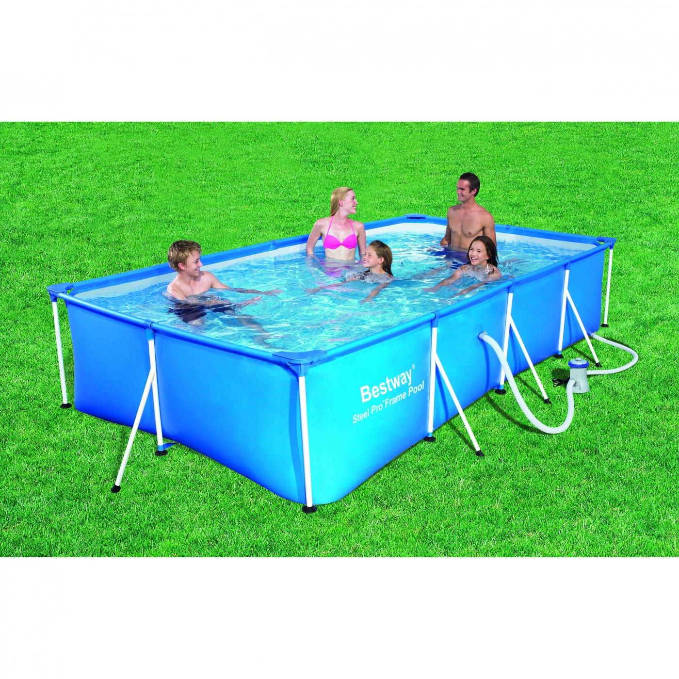 Piscina tubular con depuradora por 179 95 en planeta huerto for Depuradora piscina