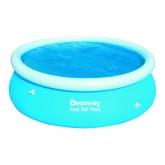 Cobertor solar para piscina Fast Set 244 cm