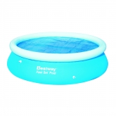Telo di copertura solare per piscina Fast Set 305 cm