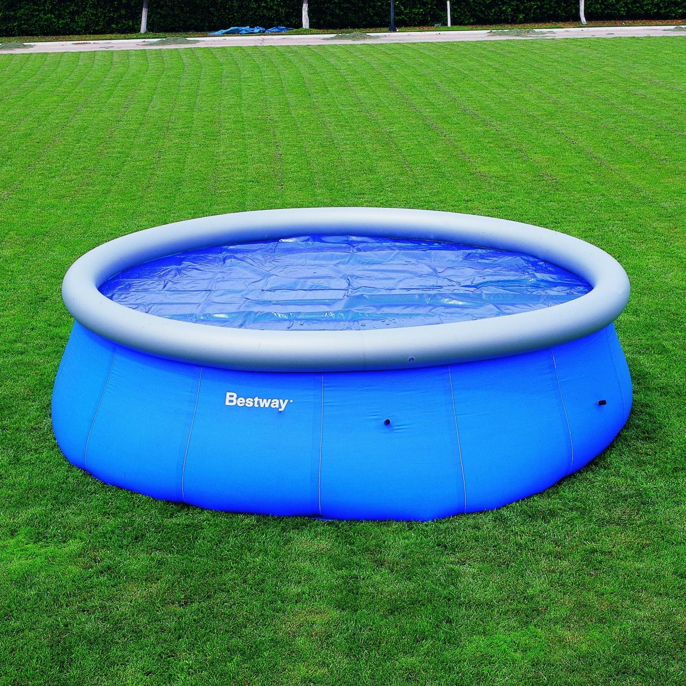Cobertor solar para piscina fast set 457 cm por 34 95 en for Piscinas bestway opiniones