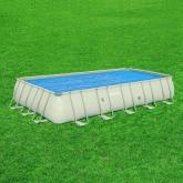 Bâche solaire pour piscine rectangulaire Frame 671 x 366 x 132 cm