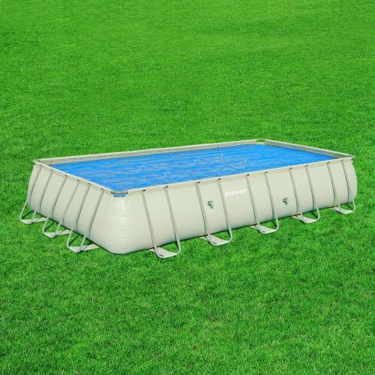 Telo di copertura solare per piscina rettangolare Frame 671 x 366 x 132 cm