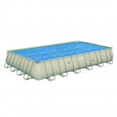Telo di copertura solare per piscina rettangolare Frame 732 x 366 x 132 cm
