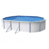 Telo di copertura solare per piscina ovale 610 x 370 cm