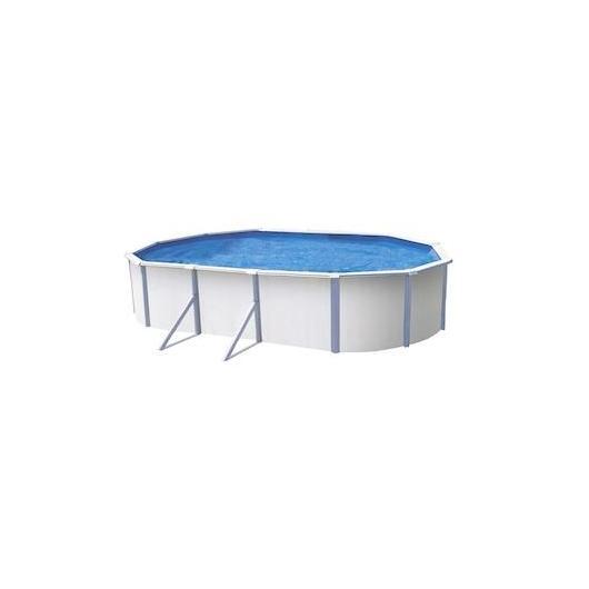Cobertor solar para piscina ovalada 610 x 370 cm