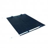 Copertura collettore solare per riscaldamento acqua 221 x 86 cm