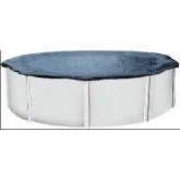 Cobertor de invierno para piscina de chapa redonda 350 a 390 cm diámetro