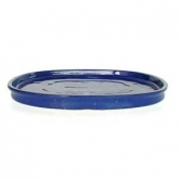 Prato oval azul