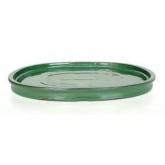 Prato oval verde