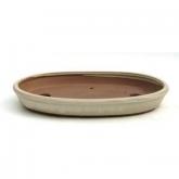 Vaso barro bege 25 cm