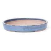 Vaso barro azul claro 25 cm