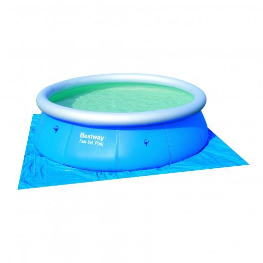 Tapiz de suelo para piscina 366 cm diámetro