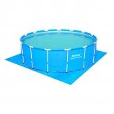 Tapiz de suelo para piscina 457 cm diámetro
