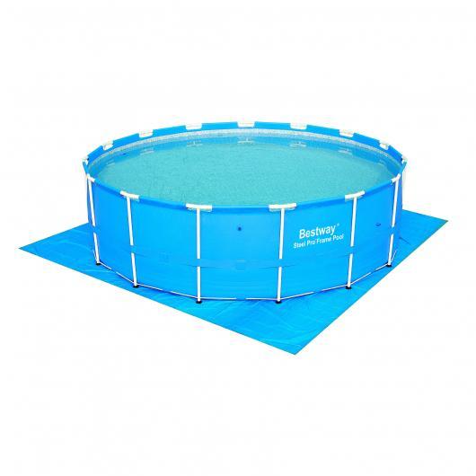 Tappeto suolo per piscina 457 cm diametro